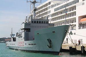 Gorgona-class transport ship - Lipari (A 5352) in 2015