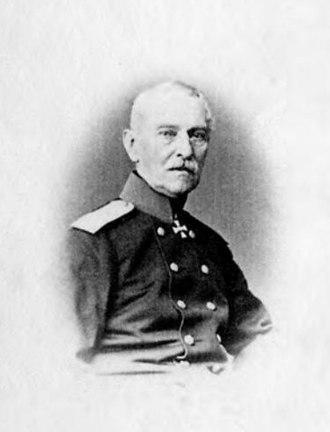 Pavel Liprandi - Liprandi in the 1860s