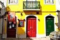 Lisbon, Portugal (Sharon Hahn Darlin) casa amarela.jpg