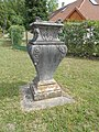 Listed stone vase W in Fonyód, 2016 Hungary.jpg