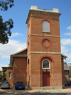 St Lukes Anglican Church, Liverpool Heritage-listed church in Sydney, Australia