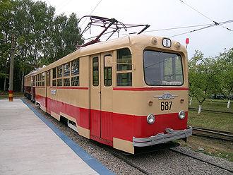 Petersburg Tram Mechanical Factory - Image: Lm 49 nn