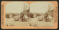 Loading cotton on steamers, on the levee, New Orleans, La, by M. H. Zahner.png