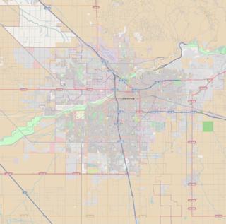 East Bakersfield Region in Bakersfield in California, United States