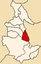 Location of the province Sucre in Ayacucho.png