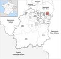 Locator map of Kanton Yerres 2019.png