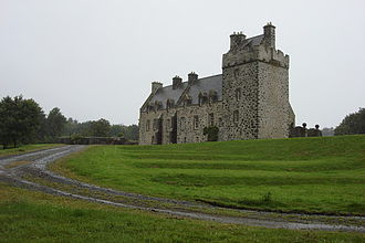 Lochnaw Castle in 2007