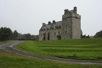 Lochnaw Castle in 2007