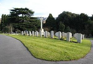 Locksbrook Cemetery - World War I graves at Locksbrook Cemetery