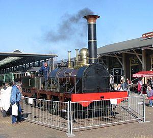 De Arend (locomotive) - The 1939-built De Arend replica
