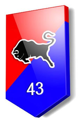 43rd Mechanized Brigade (Netherlands) - Image: Logo 43x