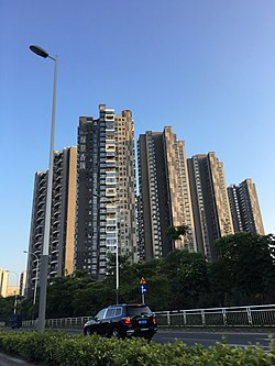 Typical new real estate establishments in Longhua