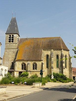 Como chegar até Église Saint-Gildard com o transporte público - Sobre o local