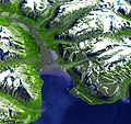 Longyearbyen, the largest island of the Svalbard archipelago, part of the Kingdom of Norway. Original from NASA. Digitally enhanced by rawpixel. - 32479216118.jpg