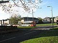 Looking from Brockenhurst Avenue to a bus passing along Botley Drive - geograph.org.uk - 1571471.jpg