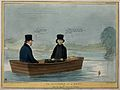 Lord Brougham fishes from a boat with Charles Phillips. Colo Wellcome V0050249.jpg