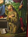 Lorenzo di credi (bottega) e pittore nordico, madonna col bambino e santi, 1500-10 ca., da s. pietro al terreno a brollo 04.JPG