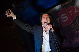 Lou Diamond Phillips - Phillips performing at an after-party for the film Filly Brown at the 2013 Miami International Film Festival