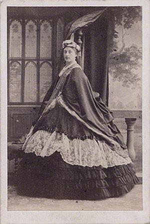 Louisa Cavendish, Duchess of Devonshire - Louise Frederica Augusta Cavendish (née von Alten), Duchess of Devonshire, 1860, by Camille Silvy