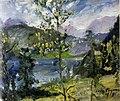 Lovis Corinth Oktoberschnee am Walchensee 1919.jpg