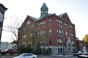 Saint Joseph's Roman Catholic College for Boys - Image: Lowell MA Saint Josephs Roman Catholic College For Boys
