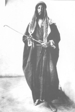 Gerard Leachman - Colonel Leachman disguised as a Bedouin.