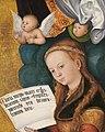 "Lucas Cranach d. Ä. - Fragment vom ""Prager Altar"", Hl. Margaretha - 1428 - Bavarian State Painting Collections.jpg"