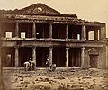 Lucknow, India; the Secundra Bagh showing damage done Wellcome V0037679.jpg
