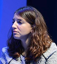 Lucy Aharish with Reuven Rivlin (cropped-02).jpg