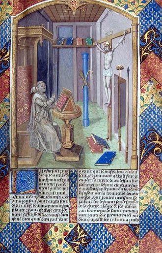 Vita Christi - Vita Christi by Ludolph of Saxony, Vol. 1, folio.