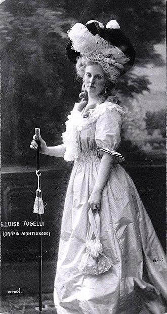 Archduchess Louise of Austria - Luise as Marie-Antoinette.