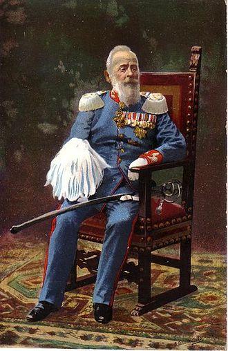 Luitpold, Prince Regent of Bavaria - Prince Regent Luitpold celebrating his 90th birthday in 1911