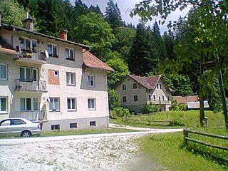 Lukanja Village in Styria, Slovenia