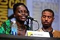 Lupita Nyong'o & Michael B. Jordan (35852140440).jpg