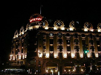 6th arrondissement of Paris - Image: Lutetia night 2005 mcb