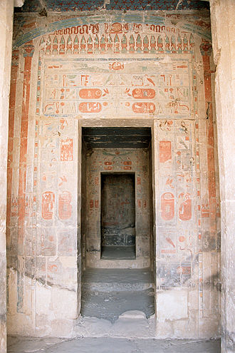 Deir el-Bahari - Sanctuary doorways