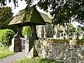 Lychgate, St Lucia's Church, Upton Magna.jpg