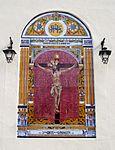 Málaga-Mural azulejos 03 Iglesia San Pedro Cristo Expiración.JPG