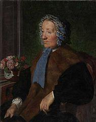 Portrait de la mère du peintre