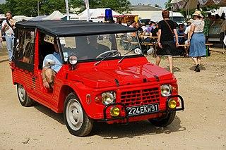 Citroën Méhari Motor vehicle