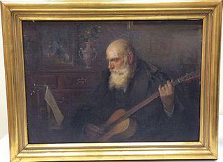 Músic tocant la guitarra