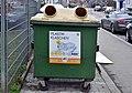 Müllsammelstelle Sechshauser Straße, Vienna - container for plastic bottles.jpg