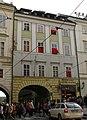 Městský dům U Šalamouna, U Nigrinů (Staré Město), Praha 1, Křižovnické nám. 1, Staré Město.JPG