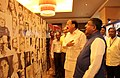 M. Venkaiah Naidu and the Union Minister for Electronics & Information Technology and Law & Justice, Shri Ravi Shankar Prasad visiting the DAVP's Photo Exhibition 'Azadi 70 Saal- Yaad Karo Kurbani'.jpg