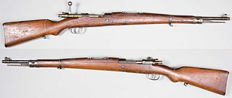 FN Model 24 and Model 30 - Yugoslav Rifle Model 1924, from the collections of the Swedish Army Museum.