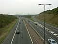 M4 and M48 Motorway junction at Awkley Hill - geograph.org.uk - 68568.jpg