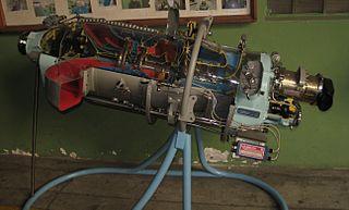 Walter M601 Czech built turboprop aircraft engine