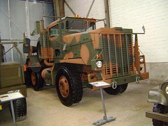 Heavy Equipment Transport System - M911 tractor at Schweizerisches Militärmuseum Full
