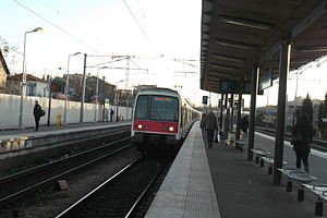 Aubervilliers - Courneve-Aubervilliers Station