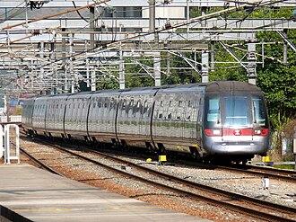 MTR Adtranz–CAF EMU - Image: MTR Tung Chung line